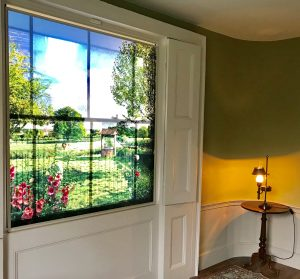 View of th window in the small Parlour