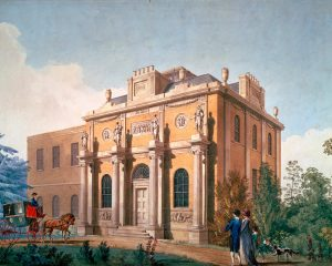 Pitzhanger Manor, Joseph Gandy, 1800 © Sir John Soane's Museum, London