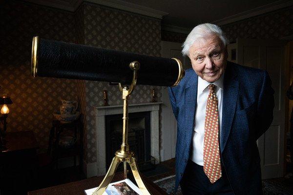 Sir David Attenborough Opens Exhibition