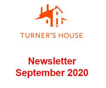 News from Turner's House September 2020